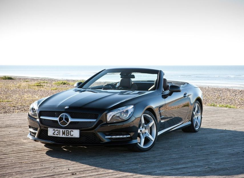 Benz-SL500-Front-Side-Angle-View